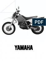 Yamaha TT600E Wartungsdaten