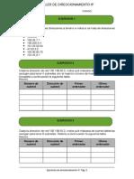 Taller de Direccionamiento IP 2014
