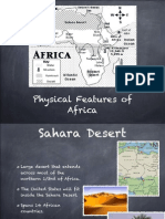 physical feature of africa