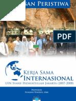 Lintasan Peristiwa Kerjasama Internasional