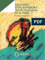 Juventud, Educación Superior y Movimiento Indígena en el Perú. Resumen y Propuesta