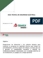 Guía técnica de seguridad eléctrica - PEMEX Refinación