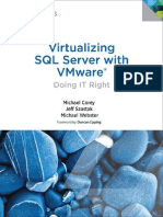 Virtualizing SQL Server With VMWare - Doing It Right
