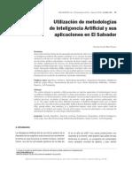7. Utilizacion de Metodologias de Inteligencia Artificial y Sus Aplicaciones en El Salvador