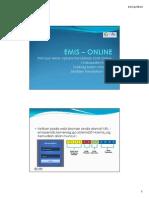 EMIS Online Manual - KabKota