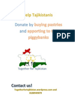 Poster Together for Tajikistan