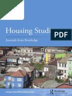 Catalogue Housing Studies