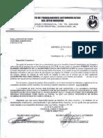 Acuerdo General de Radio Se Elimino La Conificacion de Guardias.