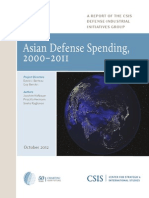 Asian Defense Spending, 2000–2011- CSIS, 2012.10