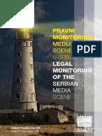 Pravni Monitoring Medijske Scene u Srbiji ANEM Broj 8