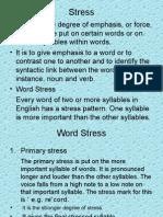 14 English Word Stress