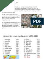 Chile, Pais de Desigualdad