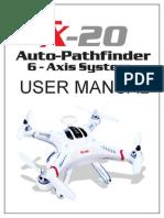 Cheerson CX 20 User Manual