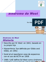 Sindrome West 2013