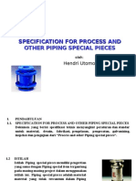 Piping- Special Item