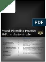 Word Plantillas Práctica 8