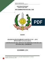 Bases Amc 091- 2014 Mantenimiento de Infraestructura