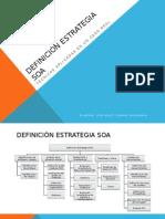 Definición Estrategia SOA