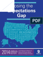 Closing the Expectations Gap 2014
