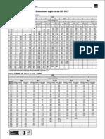 Dimensiones Tuberías HDPE ISO PE80 - PE100
