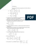 Tarea Algebra Lineal