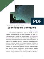 La música en Venezuela