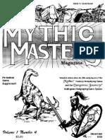 MMM4-> mythus master memo and newsletter for Dangerous Journey