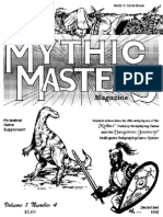 MMM4-> mythus master memo and newsletter for Dangerous Journey