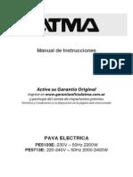 Manual ATMA Pe5103e Pe5713e