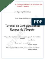 Tutorial de Configuaracion de Equipos de Computo