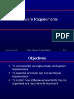 SOftware Reuirements