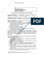 Estatutos Asociaciu00F3n Belemita de Nataciu00F3n