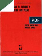 Tecnicas Para El Estudio y Clasificacion de Los Pelos1 (1)