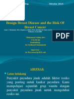 Benign Breast Disease and the Risk of Breast Presentation