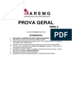 PSU Prova Geral Tipo 3 2014