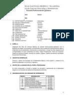 Sillabus Matematica I 2015-0