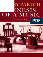 Partch Harry Genesis of a Music 2nd Ed
