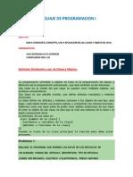 Lp1-Guia Clases y Objeto