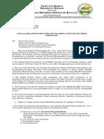 Division Memorandum No. 3 s 2015