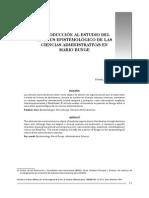 INTRODUCCIÓN AL ESTUDIO DEL ESTATUS EPISTEMOLÓGICO DE LAS CIENCIAS ADMINISTRATIVAS