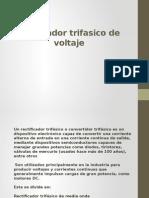 Rectificador Trifasico de Voltaje y Scr