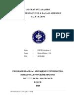 Project Akhir Orkom - Kalkulator Sederhana