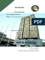 Resumen Banco Guate Economia