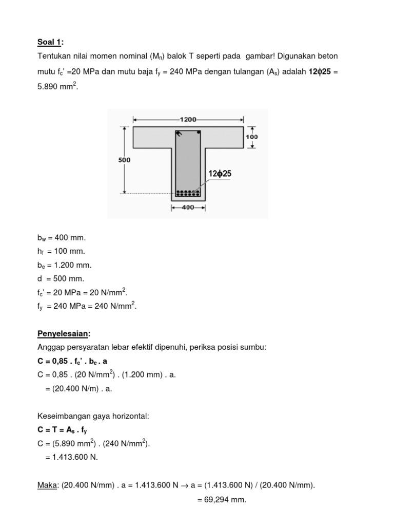 Jawaban Tugas03 Beton I