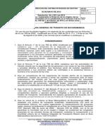 Resolucion de Pico y Placa Modificatoria Mayo 2012-1