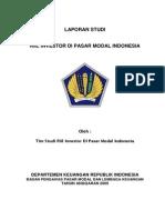 Riil Investor Pasar Modal Indonesia