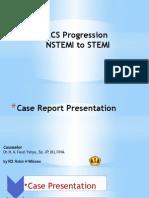 RoDaroHW Case-ACS Dynamics NSTEMI to STEMI Management and Prognosis