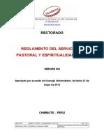 Reglamento Pastoral Espiritualidad v4-1