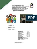 Charla Derechos y Deberes de Los Niños, Niñas y Adolescentes