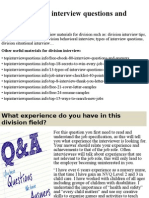 Top 10 division interview questions and answers.pptx